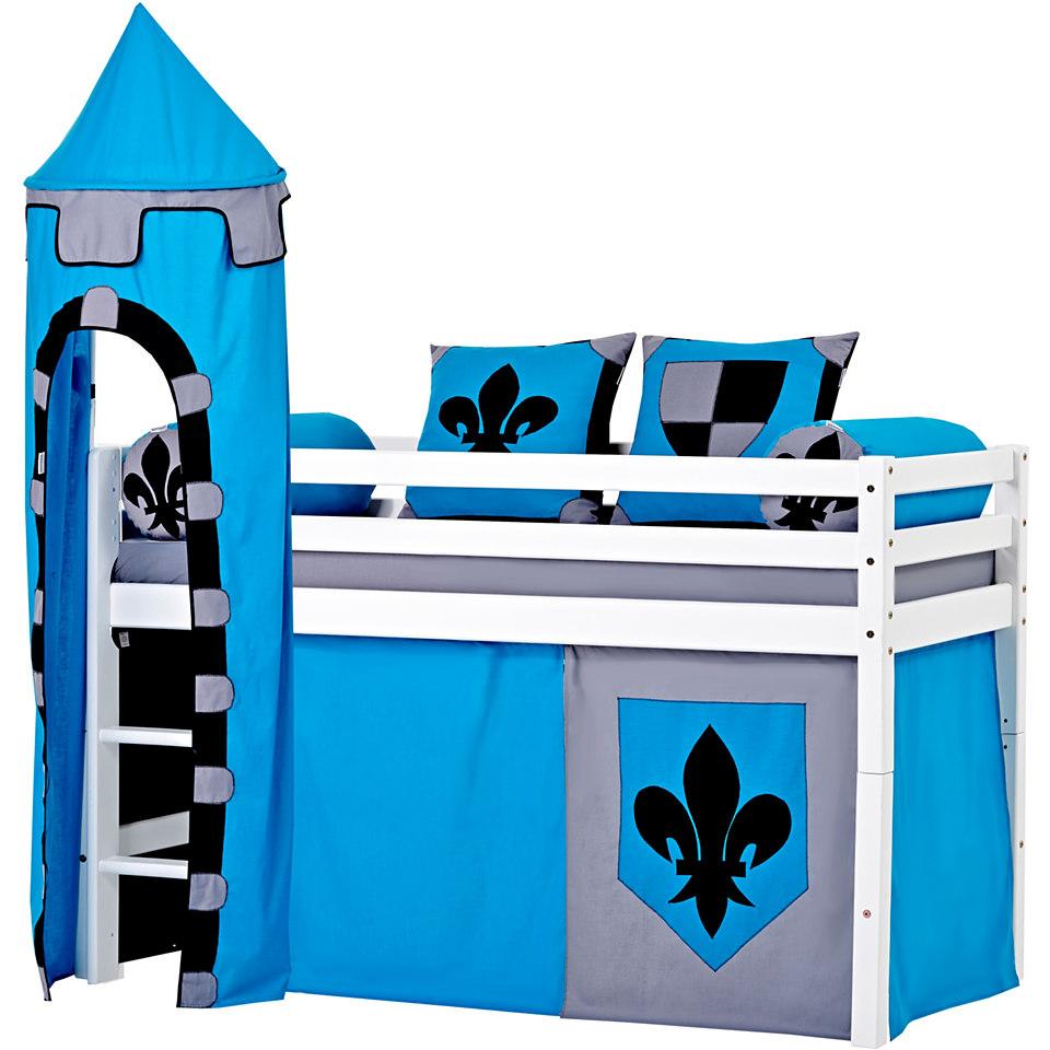 Hoppekids Halbhohes Bett �Castle� (3-tlg.)