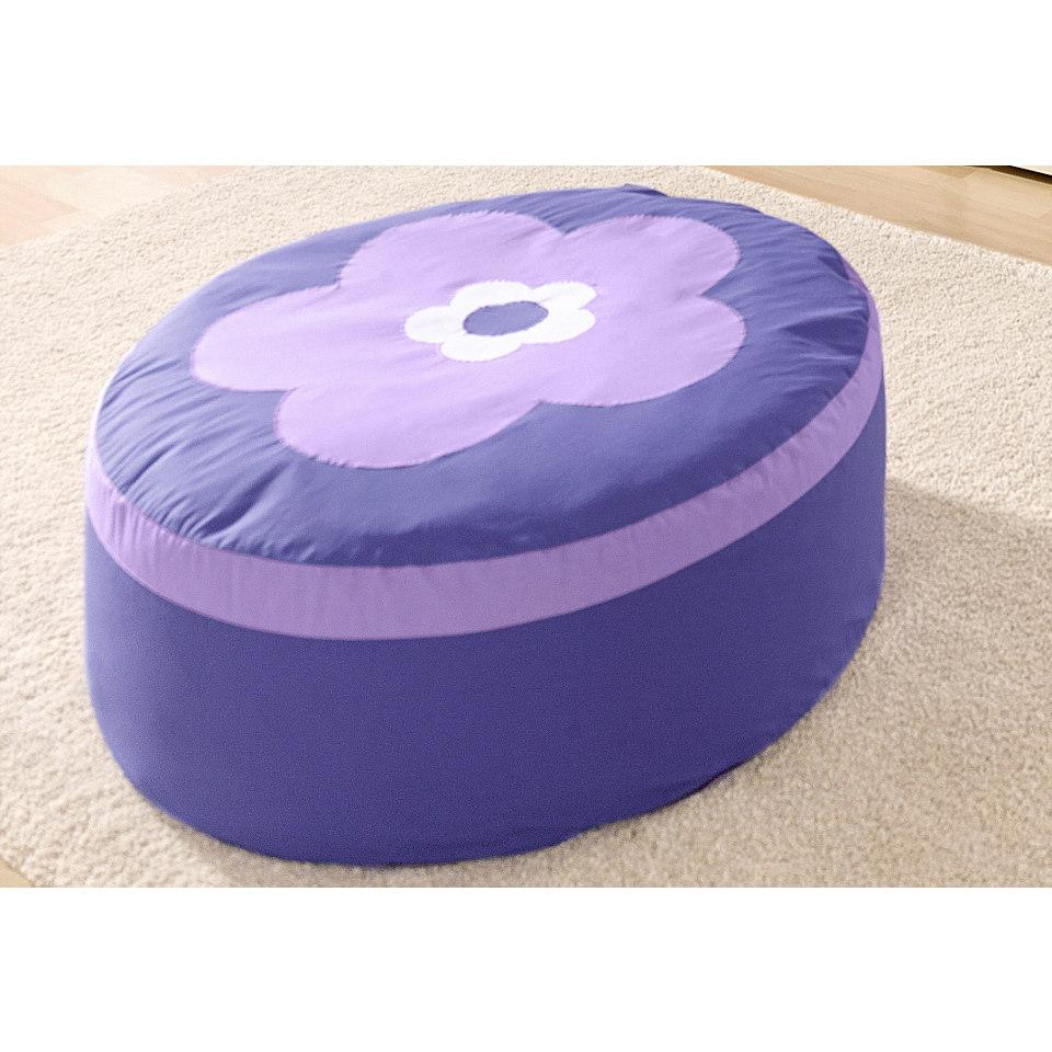 Hoppekids Sitzsack �Purple Flower�