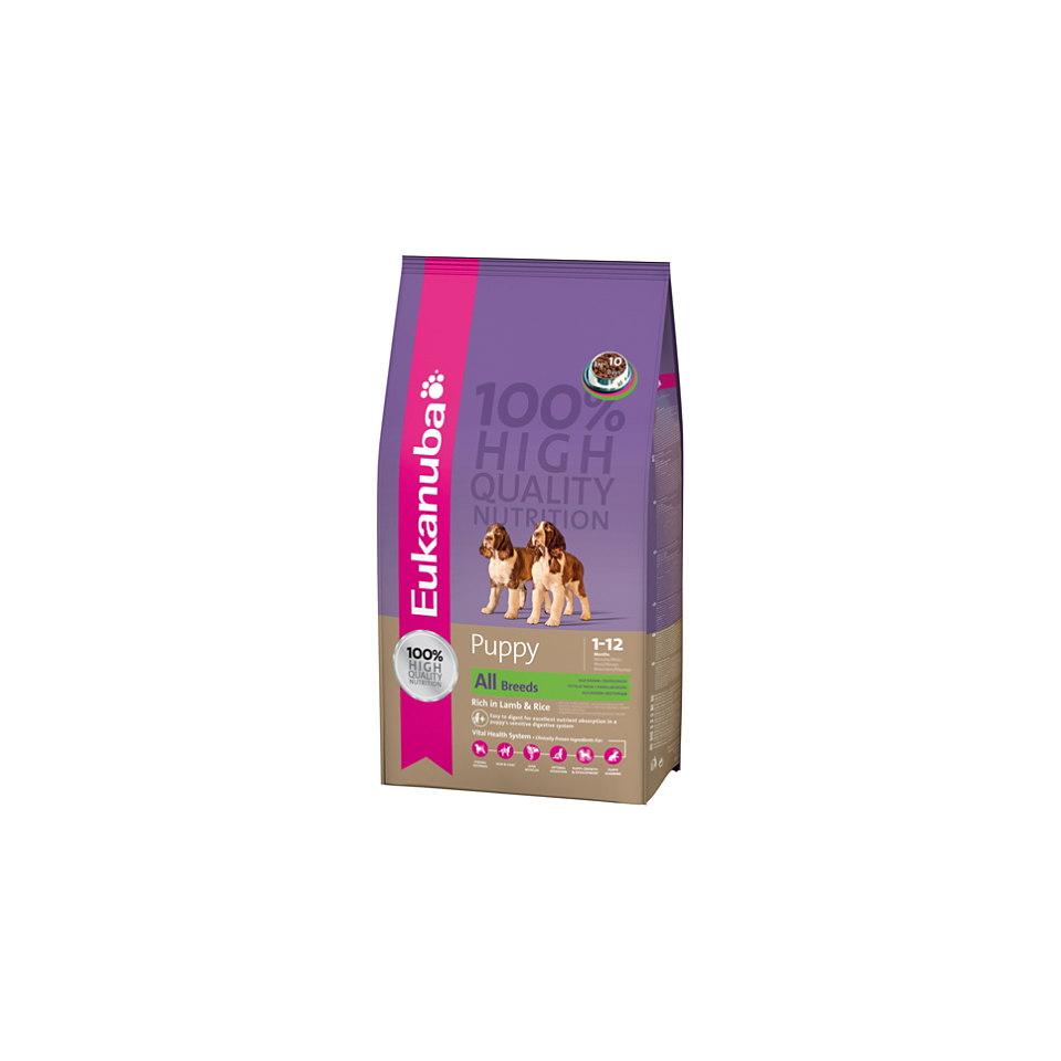 Hundefutter �Puppy & Junior Lamb & Rice� (1 x 15 kg)