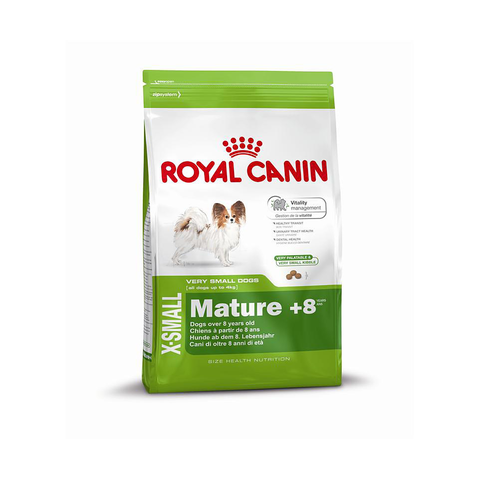 Hundefutter - Royal Canin X-Small Mature +8
