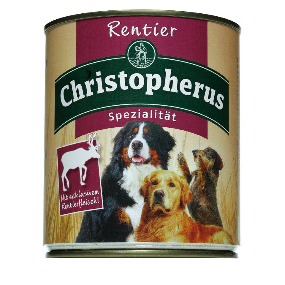 Hundefutter �Spezialit�t mit Rentier� (12 x 400/800 g)