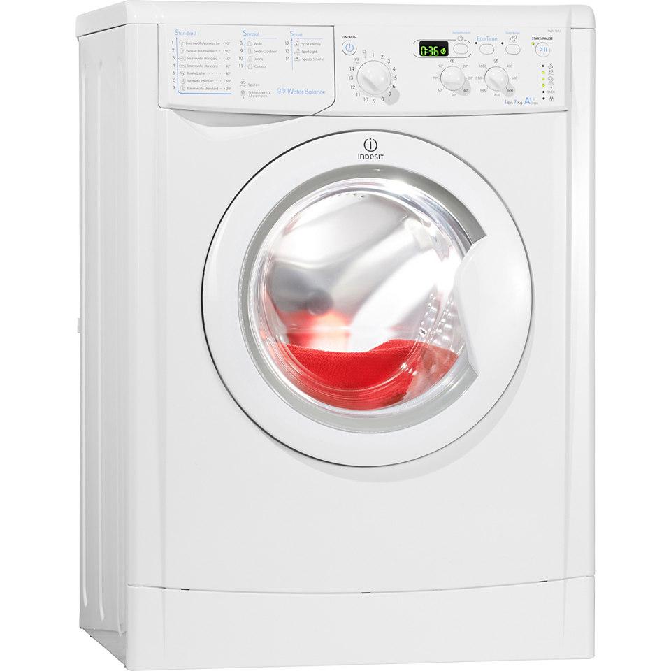 Indesit Waschmaschine IWD 71682 (DE), A++, 7 kg, 1600 U/Min