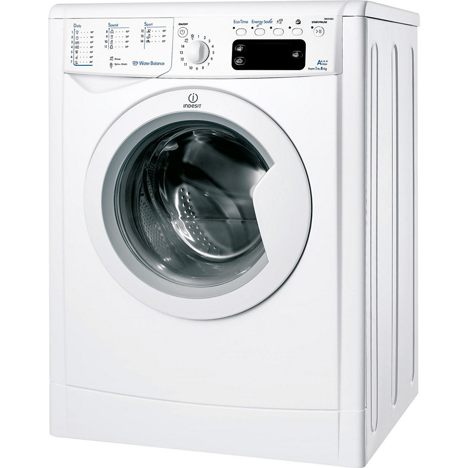 Indesit Waschmaschine IWE 81683 B C ECO EU, A+++, 8 kg, 1600 U/Min