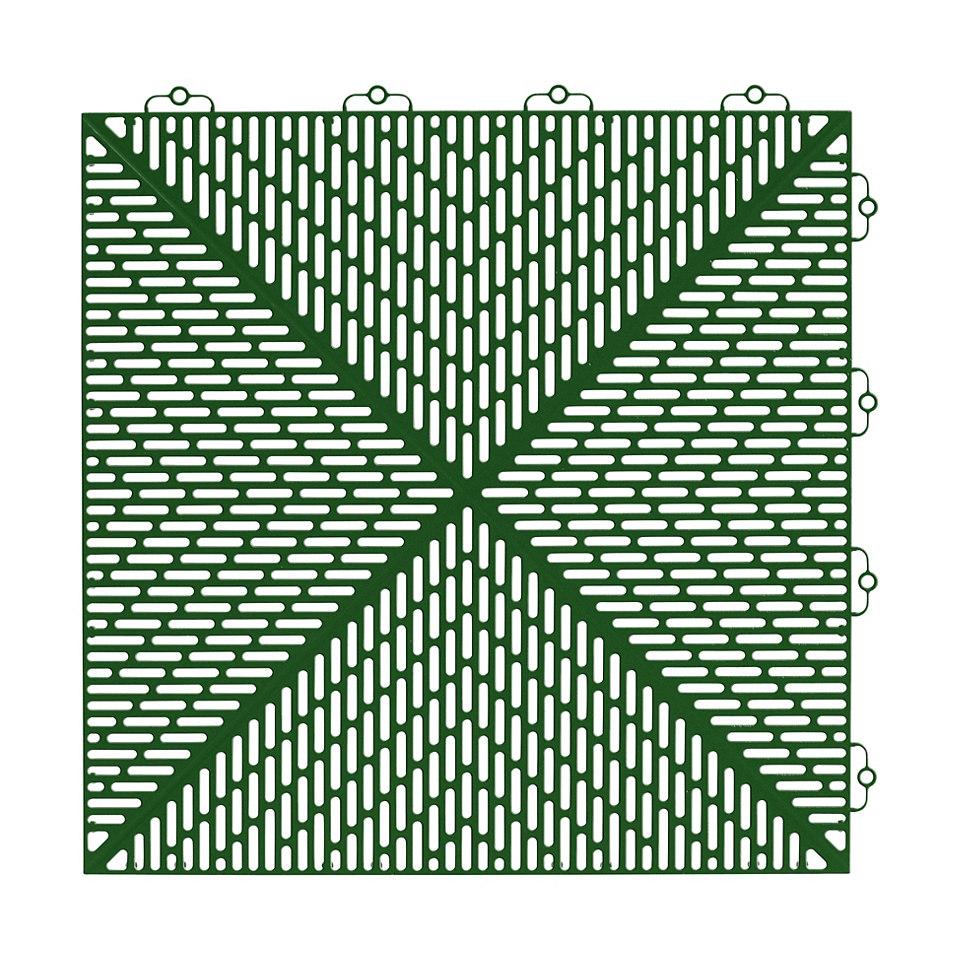 Kantenleisten für Kunststofffliesen in grün