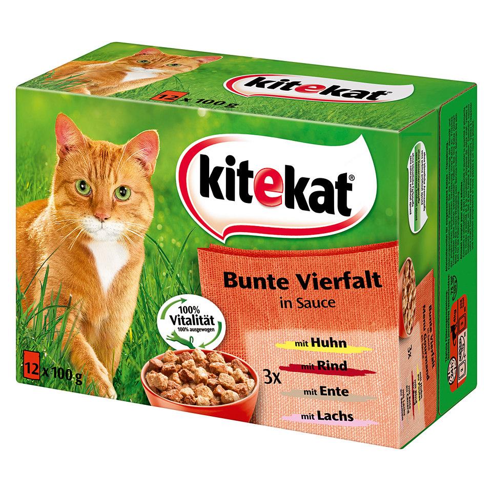 Katzenfutter (4 x 12 x 100 g)