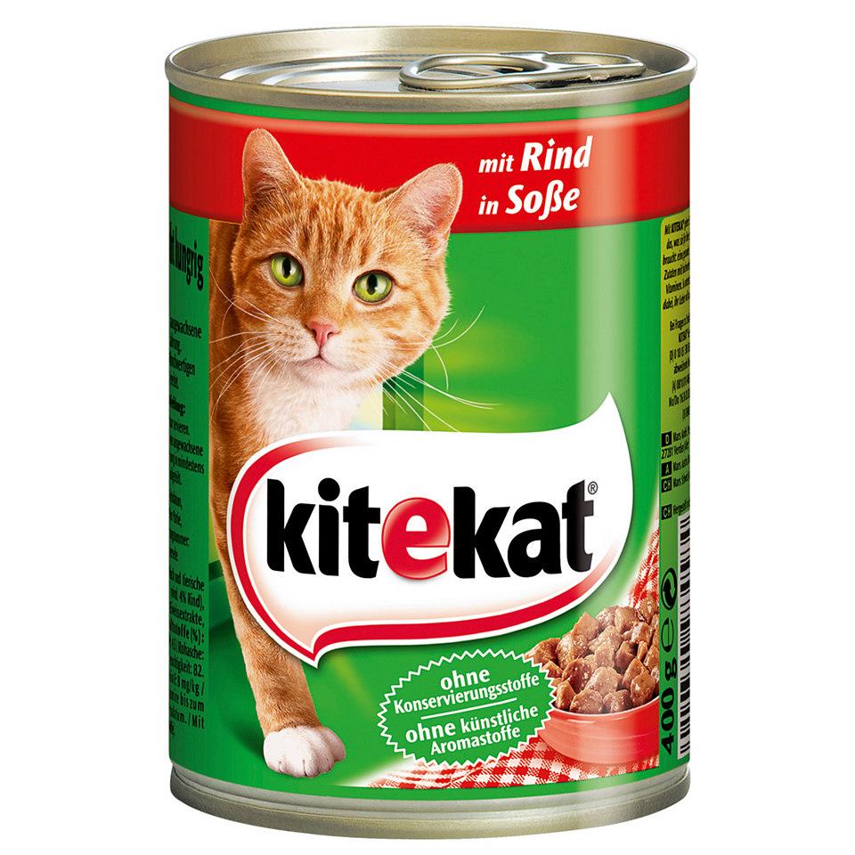 Katzenfutter - Alleinfuttermittel »Rind/Fisch/Huhn« (12 x 400 g)
