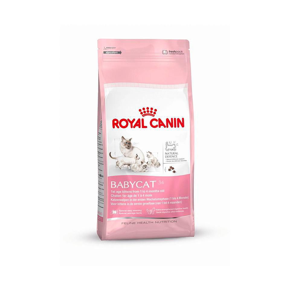 Katzenfutter - Alleinfuttermittel für Katzen »Babycat 34«