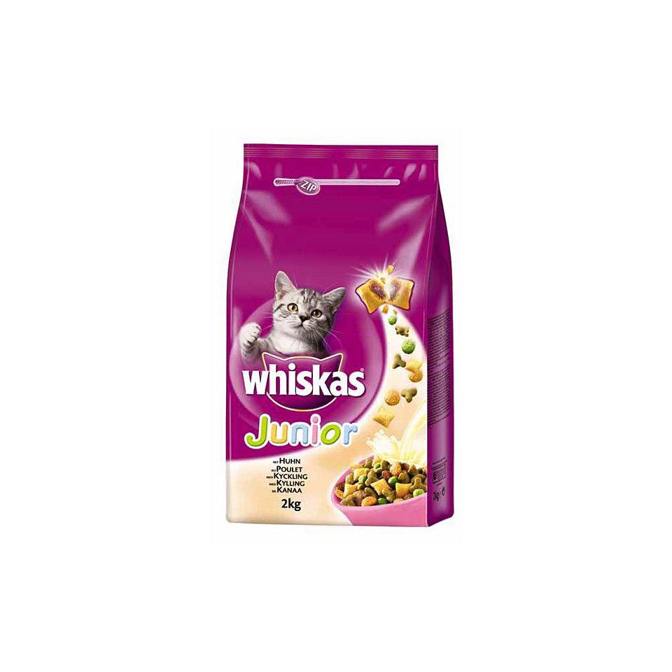 Katzenfutter - Trockenfutter 6 x 1,75 Kg »Junior Huhn«