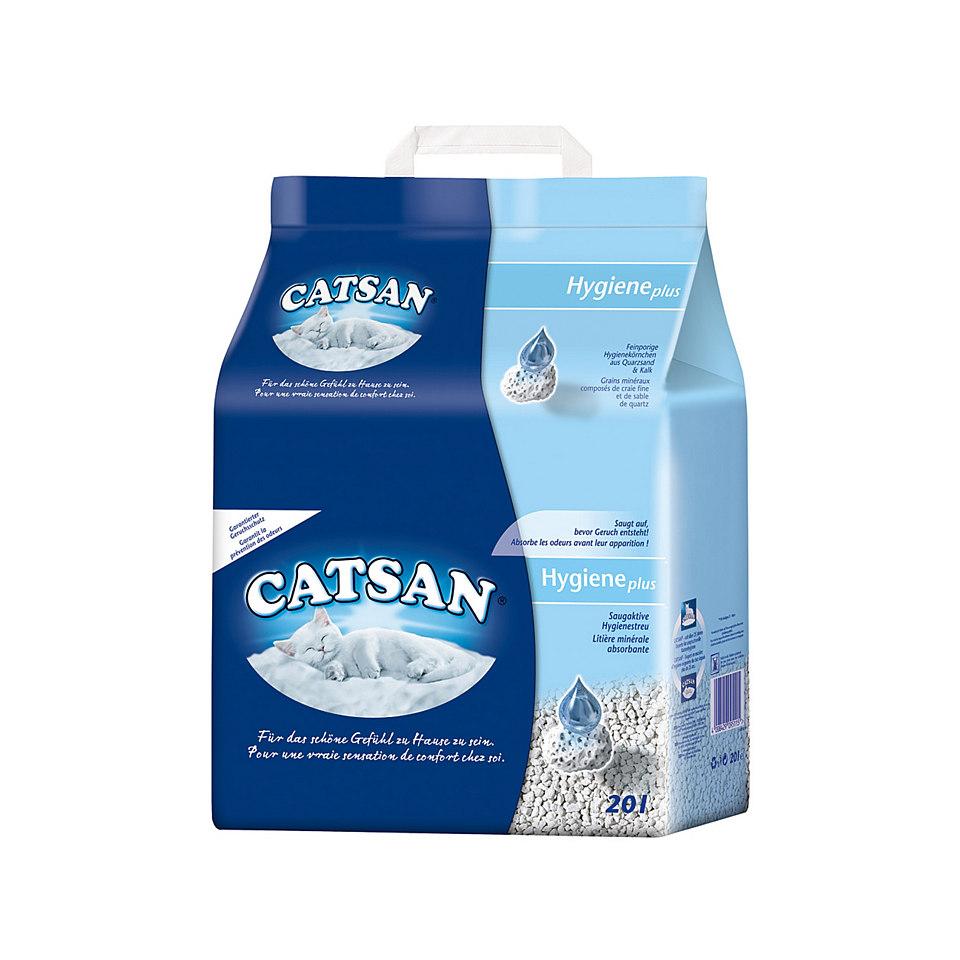 Katzenstreu »Catsan Hygienestreu 20 l« (2er Set)