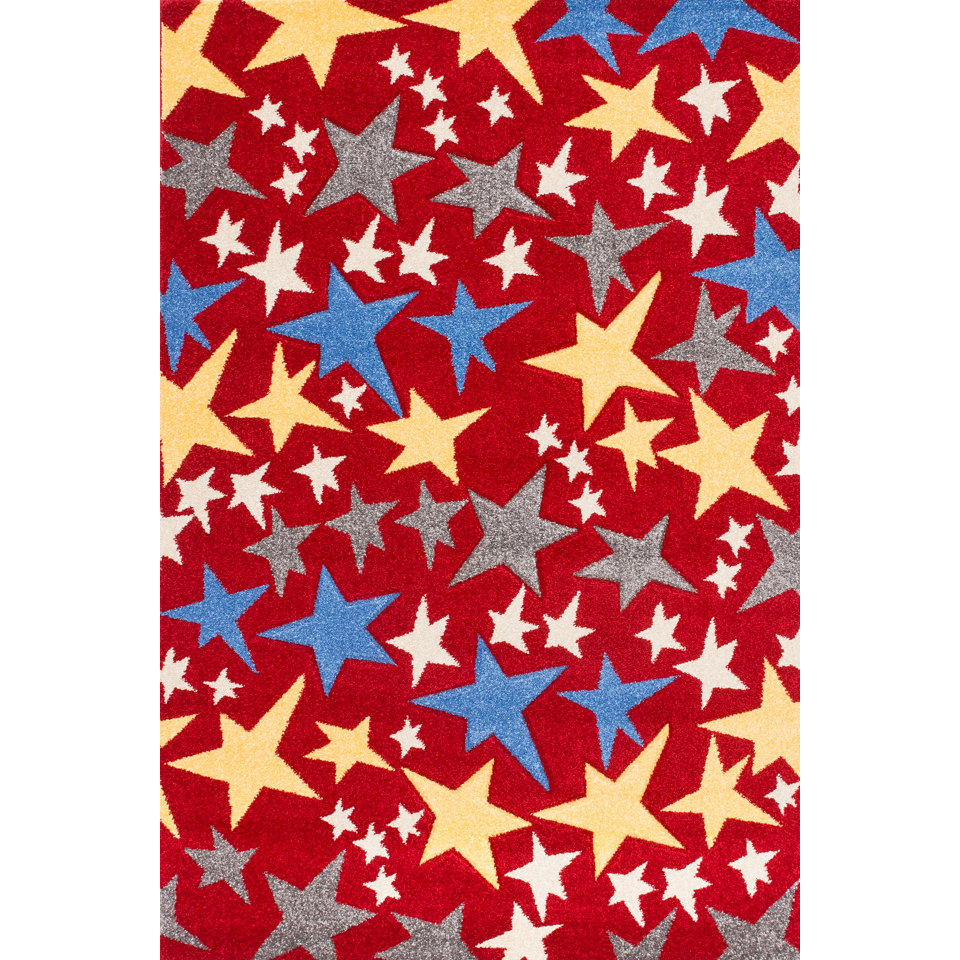 Kinder-Teppich »Amigo 308«, handgearbeiteter Konturenschnitt, Lalee