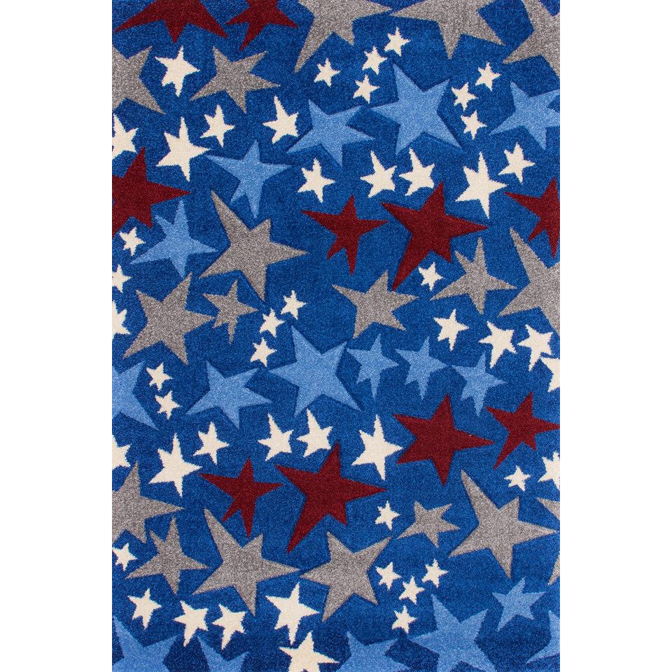 Kinder-Teppich �Amigo 308�, handgearbeiteter Konturenschnitt, Lalee