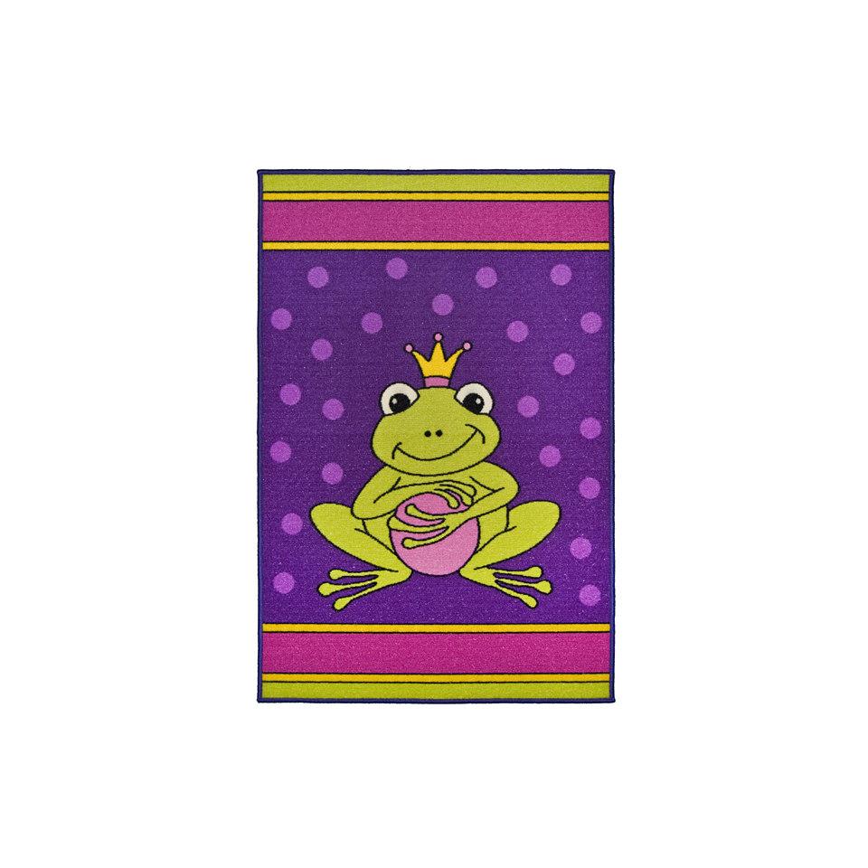 Kinder-Teppich, Andiamo, �Frosch�, getuftet