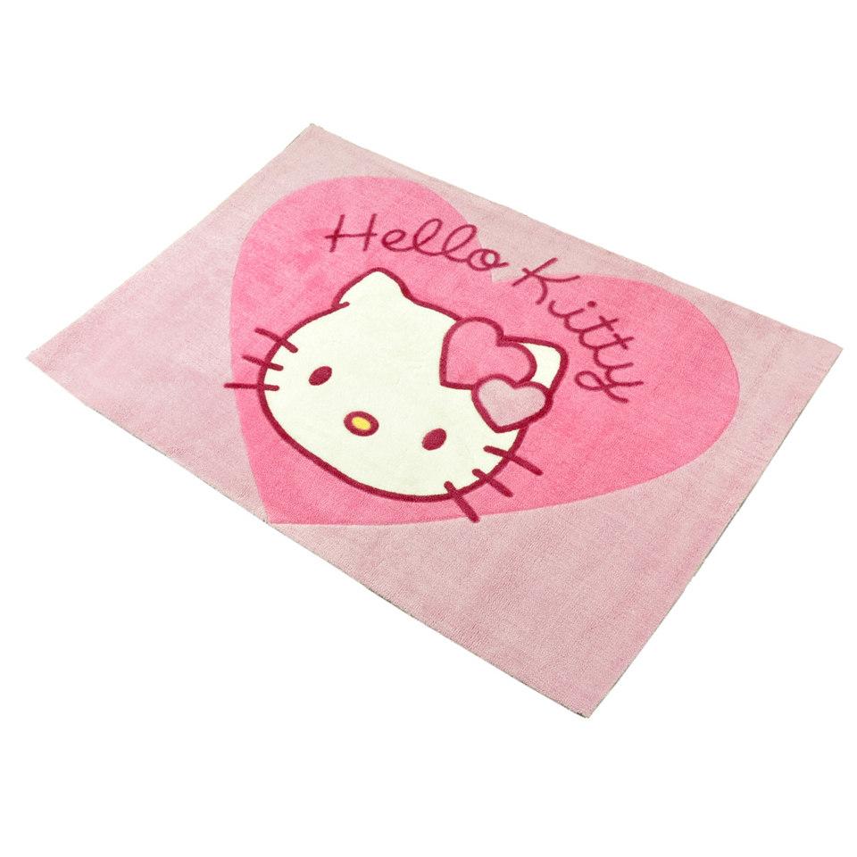 Kinder-Teppich, Ecorepublic Home, »Kids3 - Hello Kitty«, Hanse Home, handgetuftet