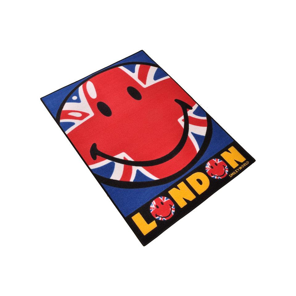 Kinder-Teppich, Ecorepublic Home, Smileyworld, »Smiley London-Houston«