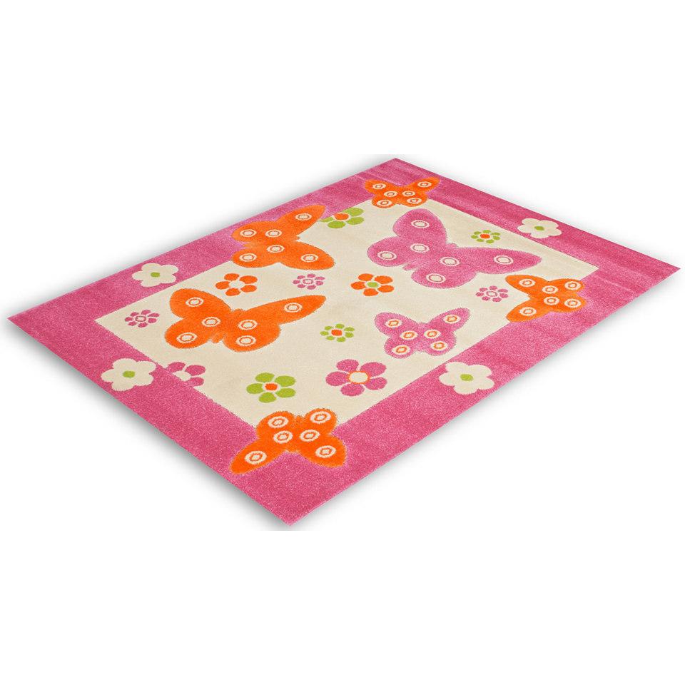 Kinder-Teppich, Lalee, �Amigo 307�, handgearbeiteter Konturenschnitt