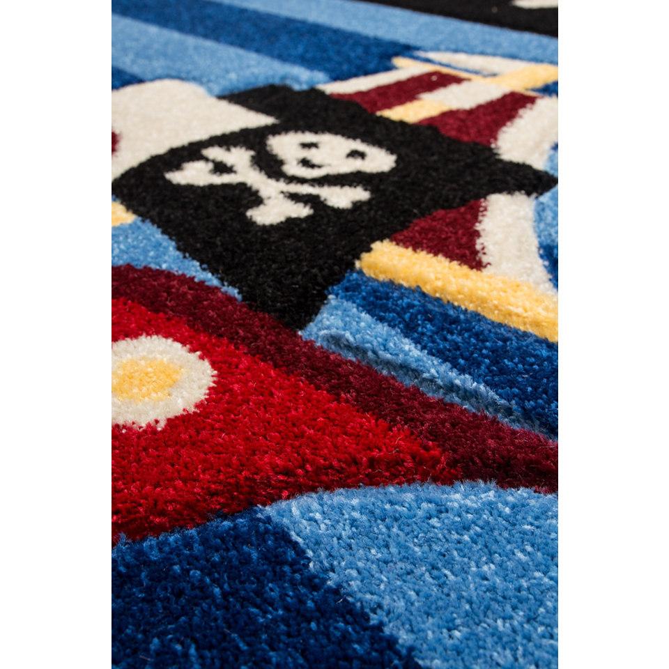 Kinder-Teppich, Lalee, �Amigo 312�, handgearbeiteter Konturenschnitt