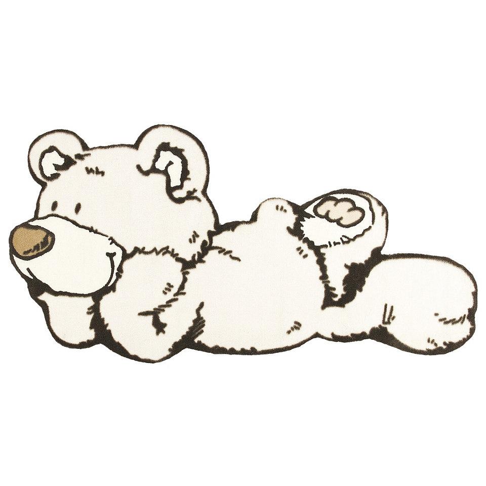 Kinder-Teppich, NICI, »Lovely Bear 2«, getuftet, handgearbeiteter Konturenschnitt