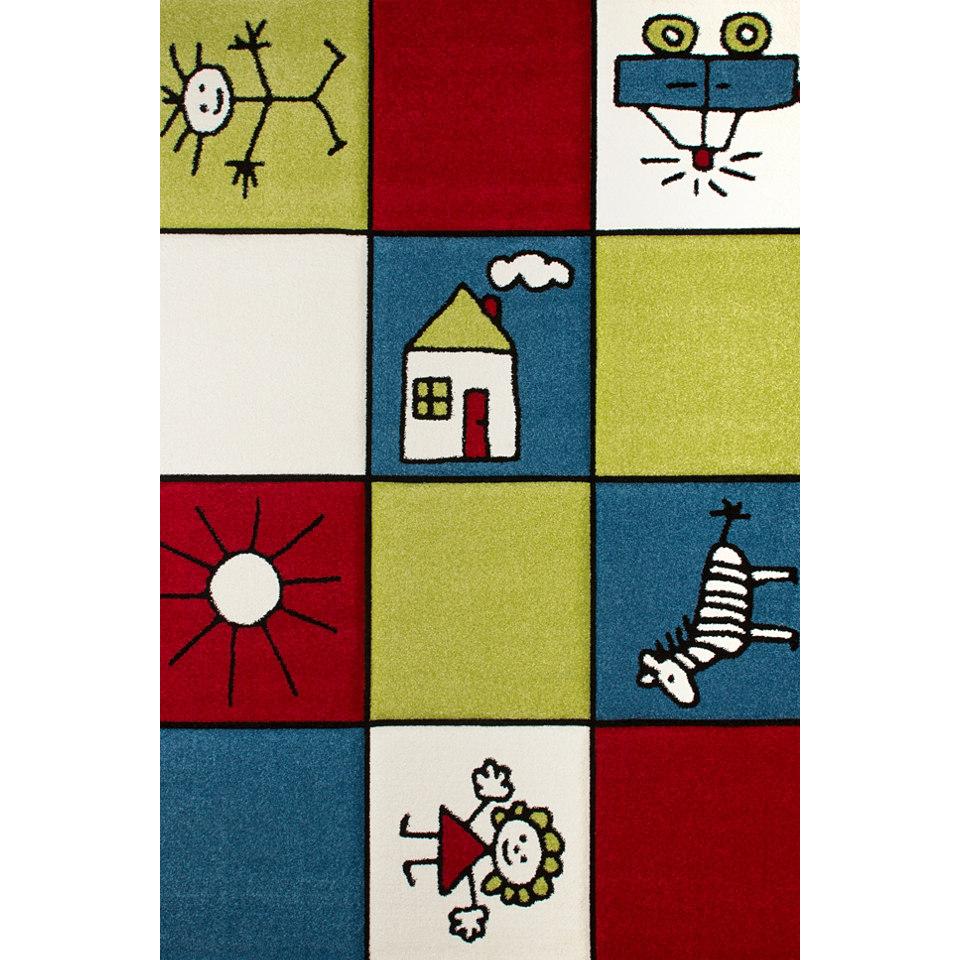 Kinder-Teppich, Obsession, �Lifestyle KIDS 162�, handgearbeiteter Konturenschnitt
