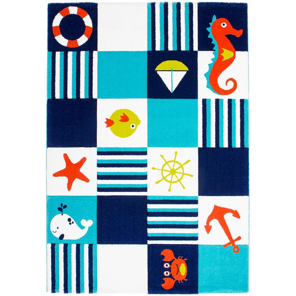 Kinder-Teppich, Obsession, �Lifestyle KIDS 166�, gewebt, handgearbeiteter Konturenschnitt
