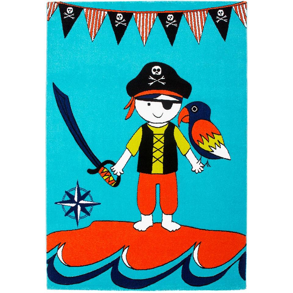 Kinder-Teppich, Obsession, »Lifestyle KIDS 182«, gewebt, handgearbeiteter Konturenschnitt