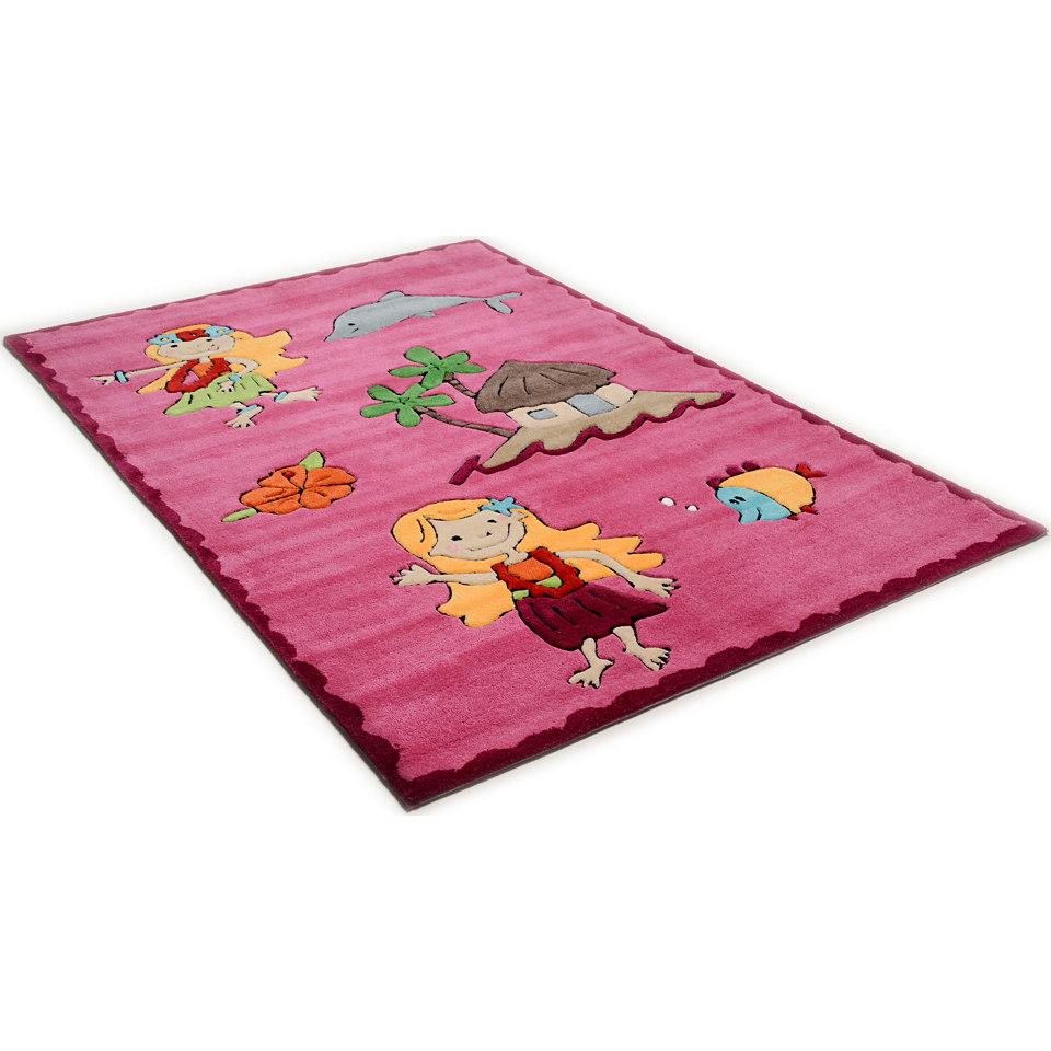 Kinder-Teppich, Theko, »Maya«, handgearbeitet
