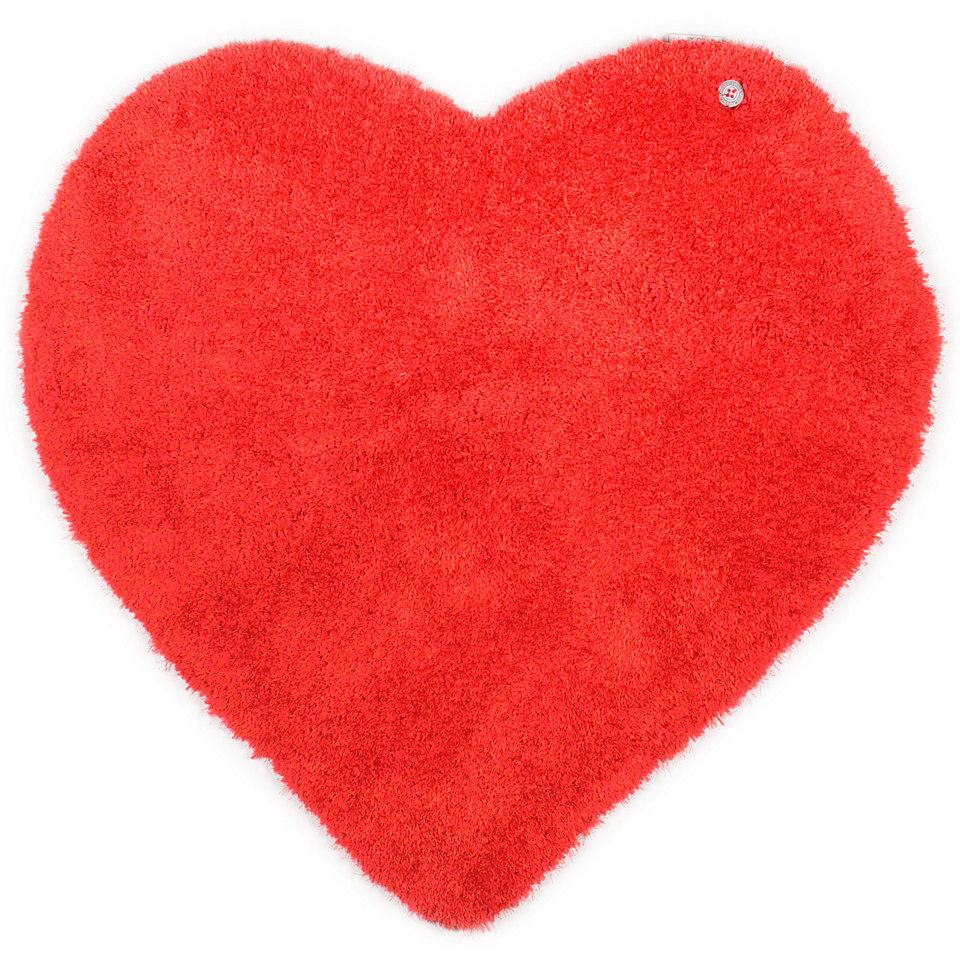 Kinder-Teppich, Tom Tailor, �Soft Herz�, Hochflor, H�he 30 mm, handgearbeitet