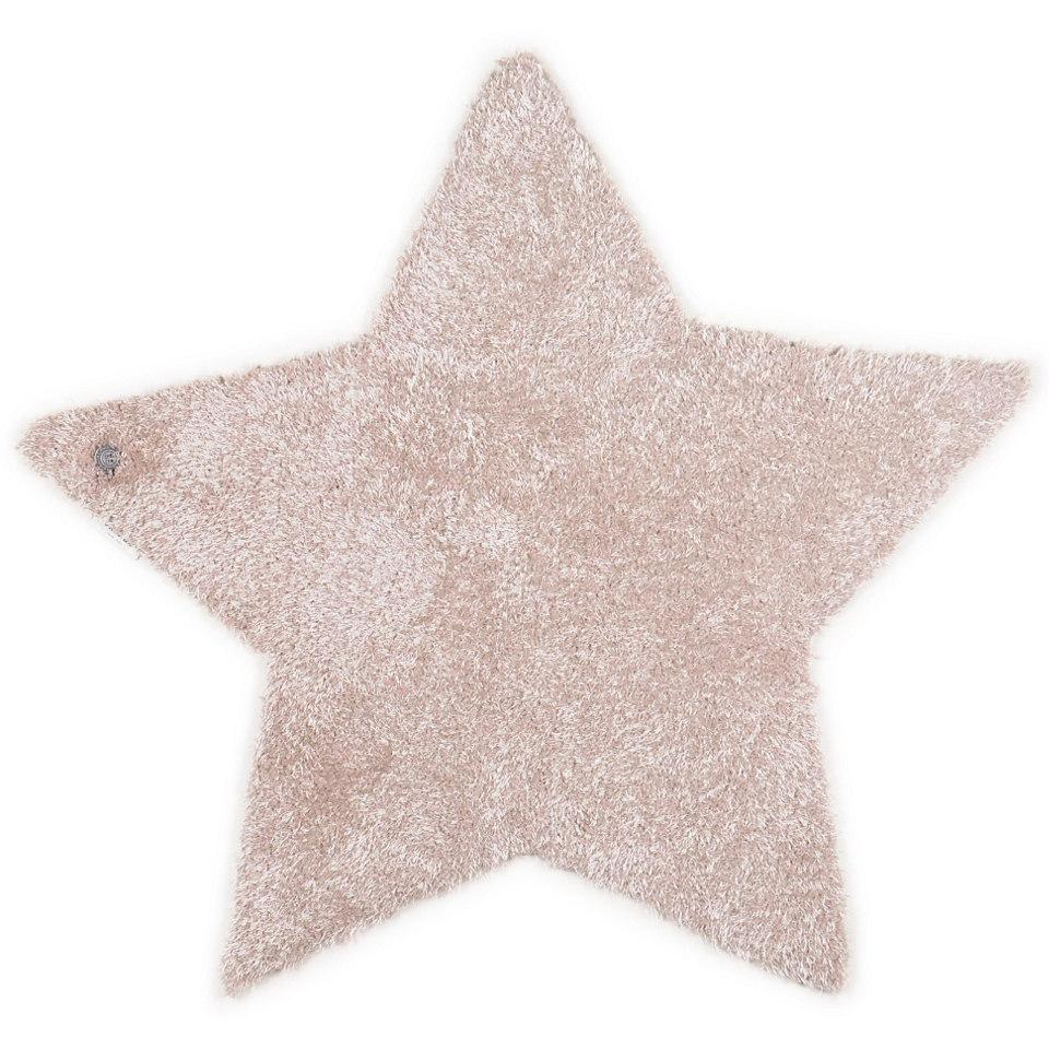 Kinder-Teppich, Tom Tailor, �Soft Stern�, Hochflor, H�he 30 mm, handgetuftet