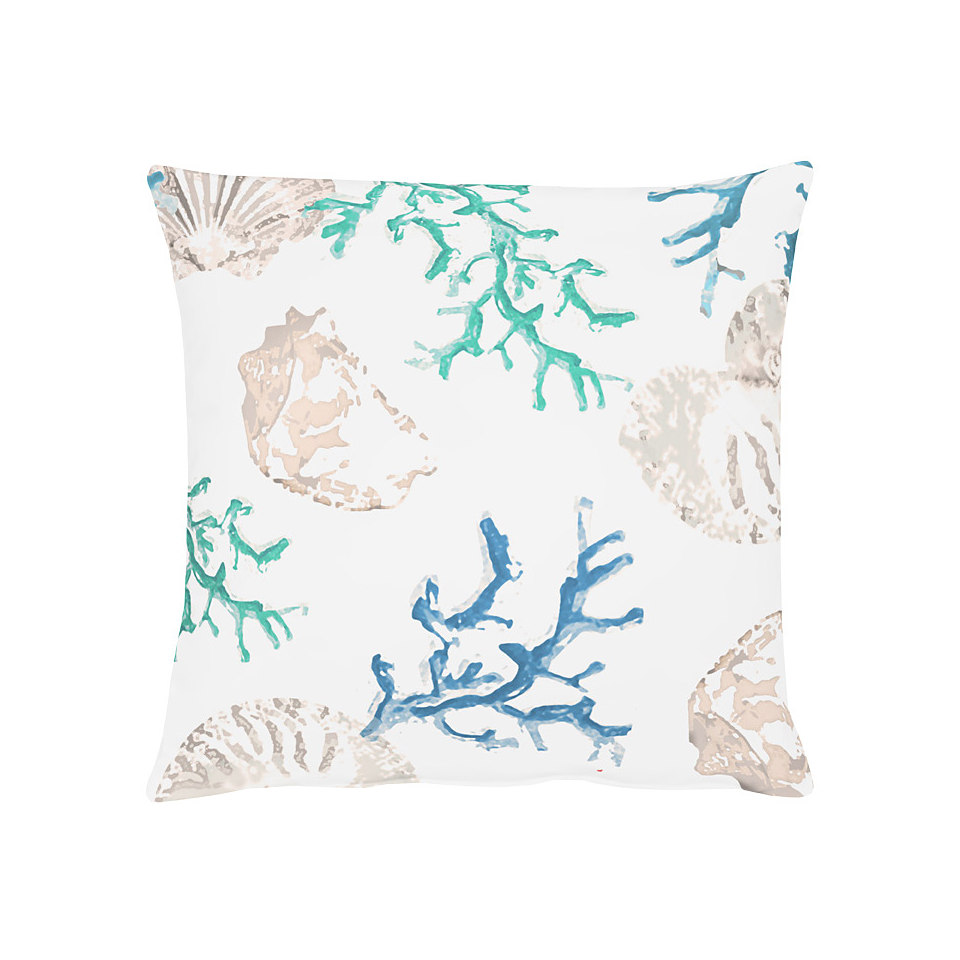 Kissen, Apelt, »4056- Digitaldruck Koralle-Muschel«
