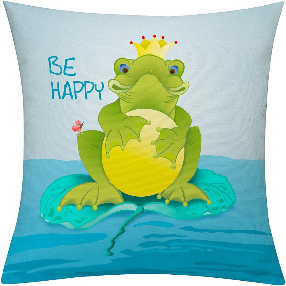 Kissenh�lle, Emotiontextiles, �Frog�
