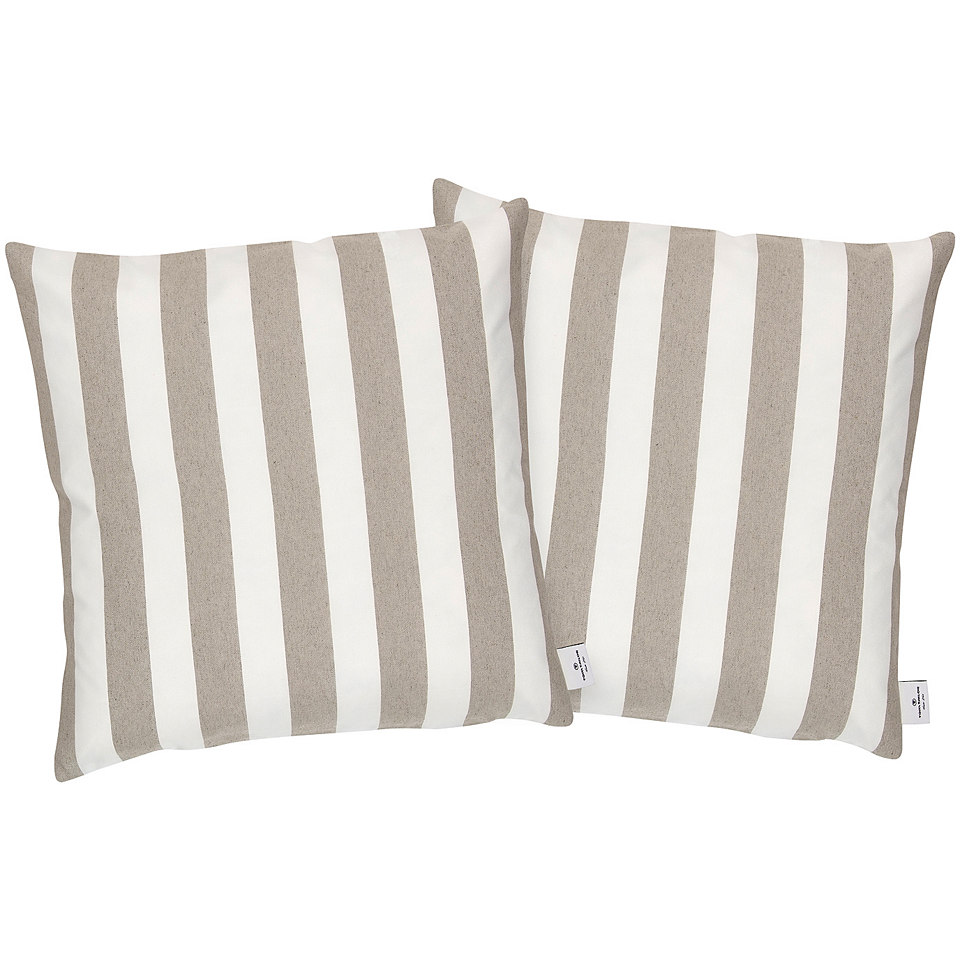 Kissenh�lle, Tom Tailor Casual Home, �Block Stripes� (2 Stck.)
