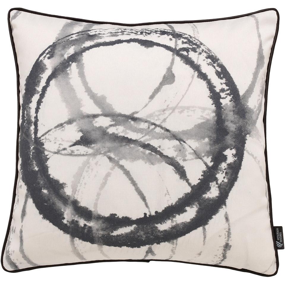 Kissenhülle, emotion textiles, »Aquarellkreise«