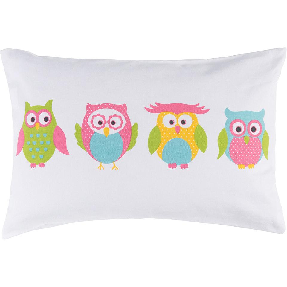Kissenh�llen, Elbersdrucke, �LITTLE OWL� (1 St�ck)