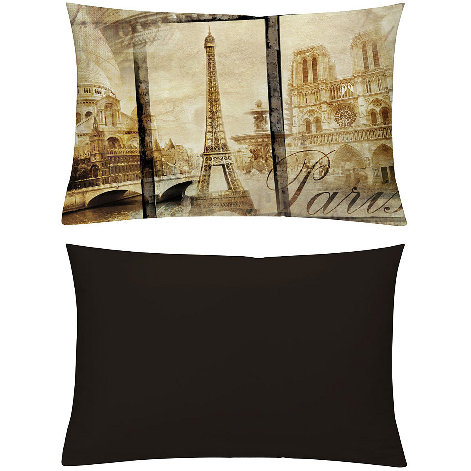 Kissenh�llen, Emotiontextiles, �Alt Paris Sepia�