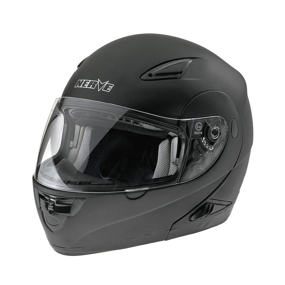 Klapp-Motorradhelm �NH 5008� in matt-schwarz