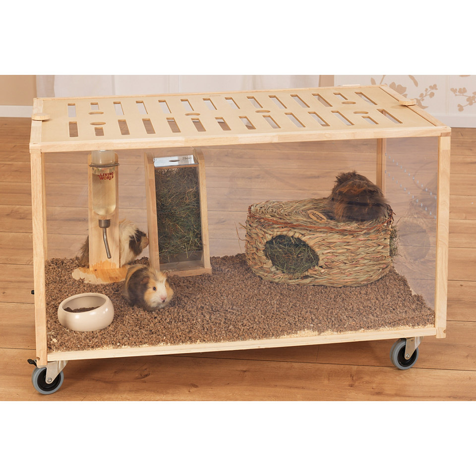 Kleintierk�fig ( Hamster, M�use & Co. ) Living World Green �Moving Home� inkl. Zubeh�r