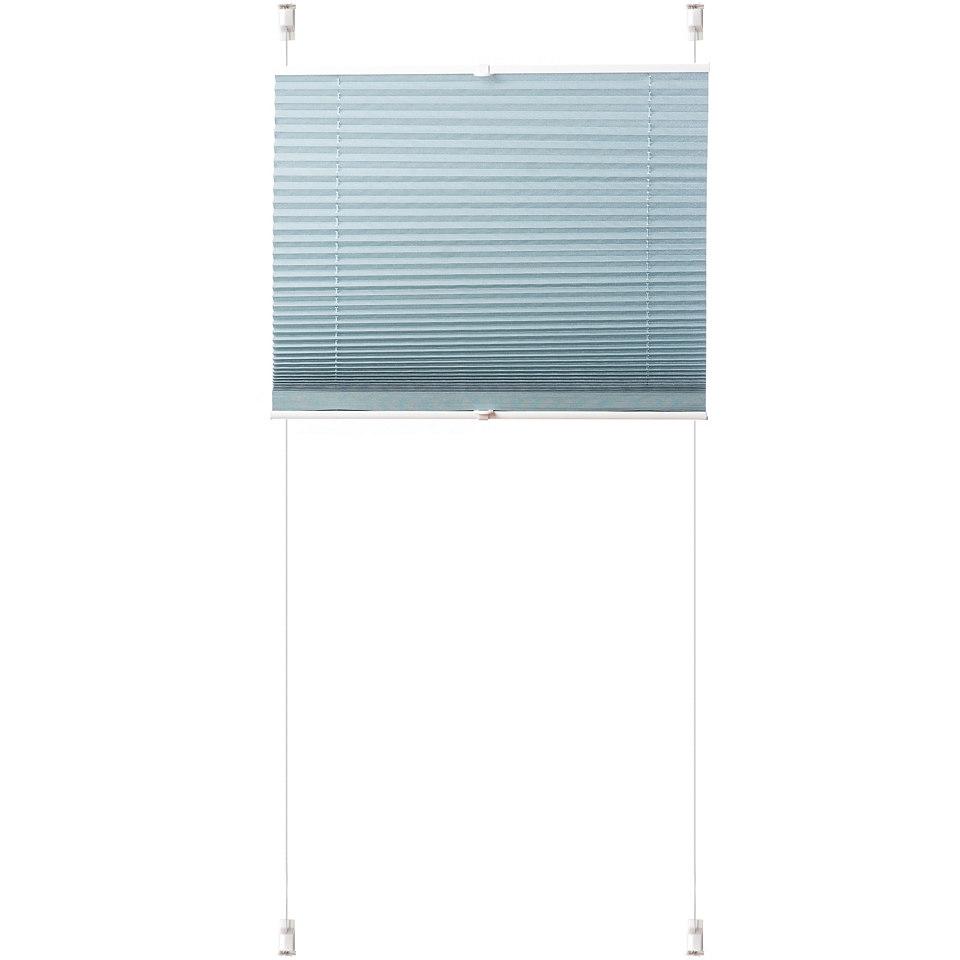 Klemmfix-Plissee, K-Home, �Siena��, ohne Bohren, Lichtschutz (1 Stck.)