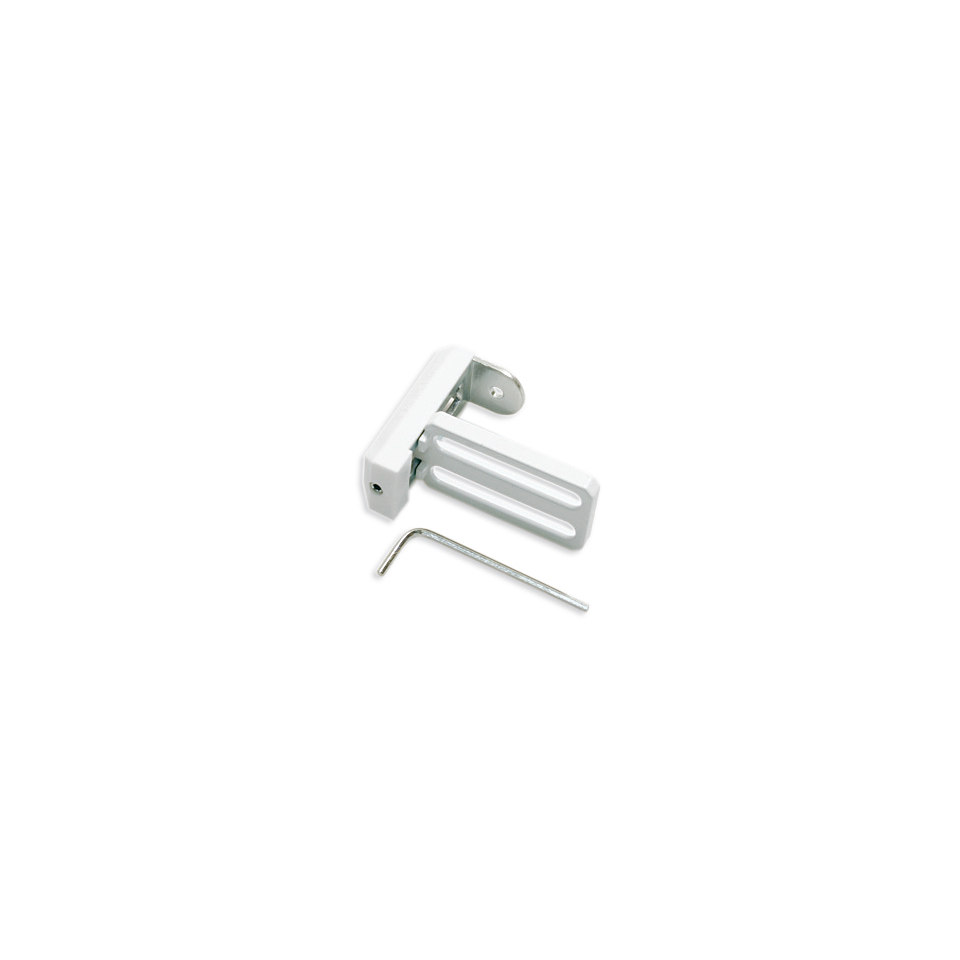 Klemmtr�ger f�r Seitenzugrollo, Doppelrollo mit Kassette und Aluminium-Jalousie, Gardinia (2 Stck)