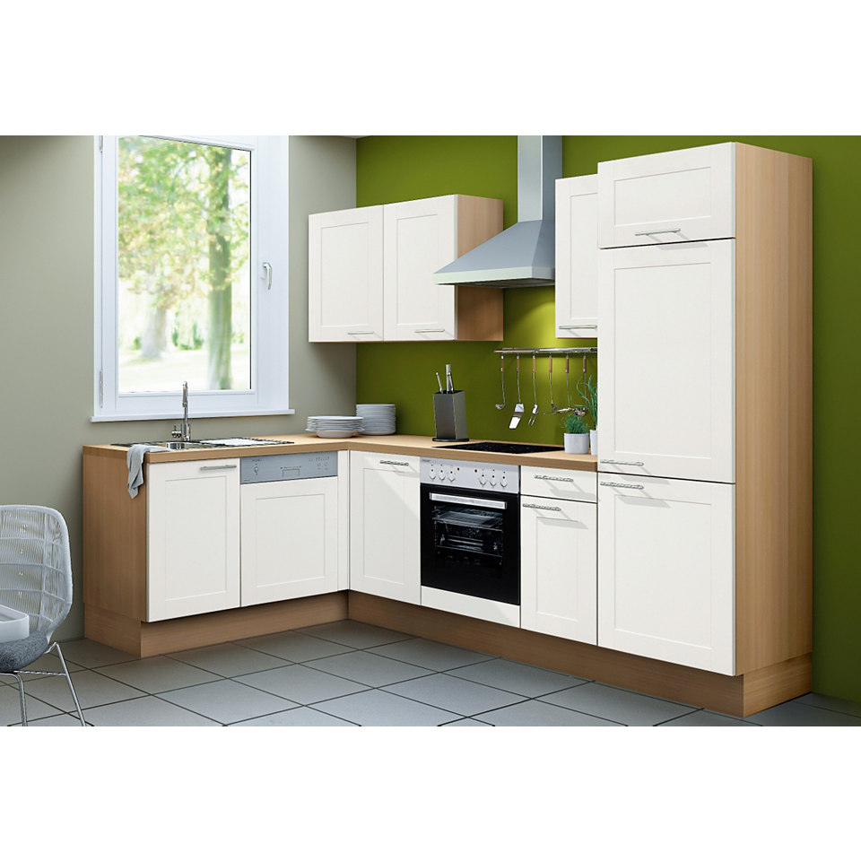 Komfort Winkel-Küchenzeile Steen, Set 2, Breite 270 x 175 cm, inkl. Elektrogeräte
