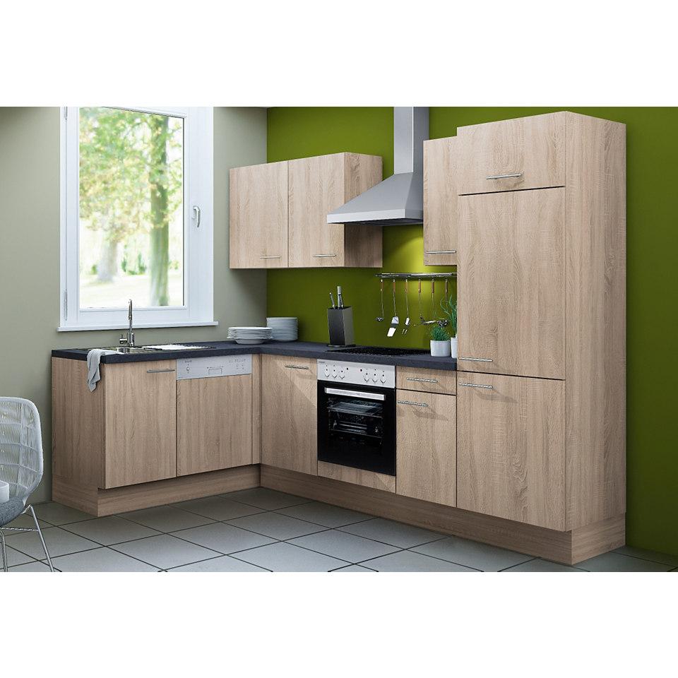 Komfort Winkel-Küchenzeilen Torger & Lasse, Set 2, Breite 270 x 175 cm, inkl. Elektrogeräte