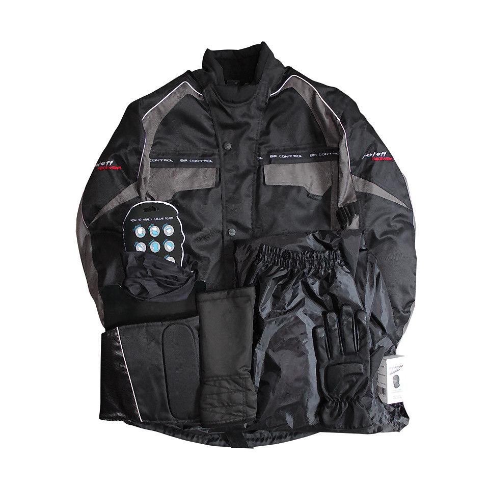 Komplett-Set: Mottorradbekleidung (7 tlg.)