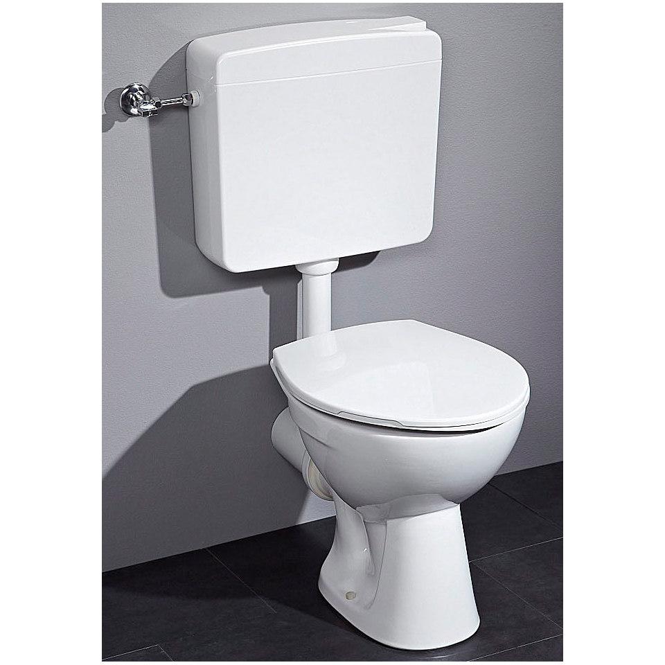 Komplett-Set: Stand-WC (4-tlg.)