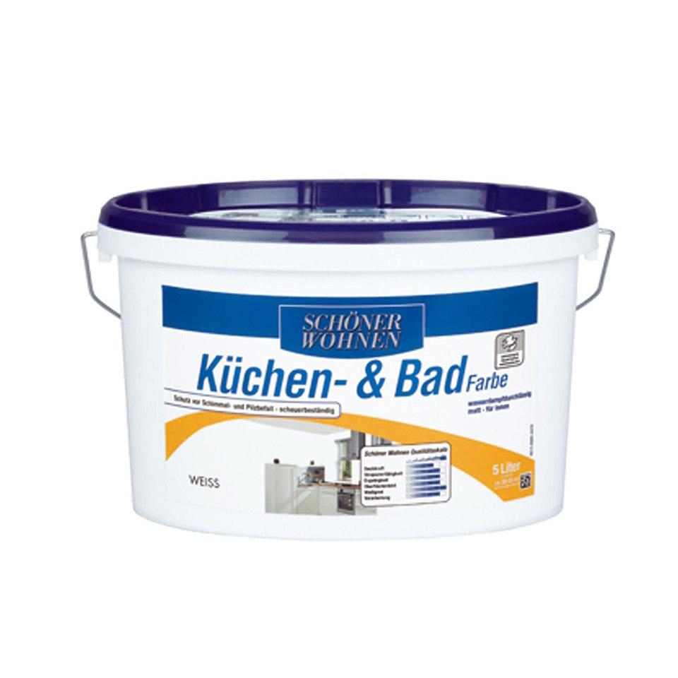 Küchen- und Badfarbe, weiß