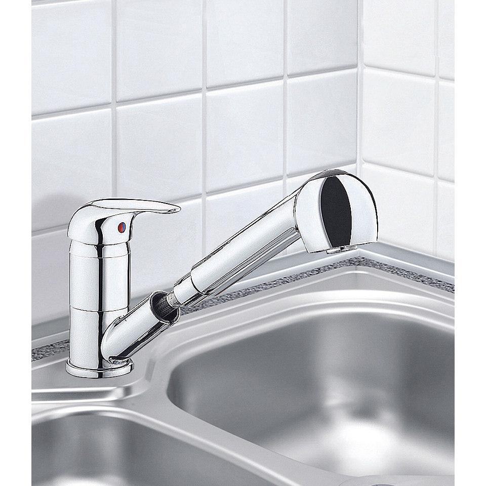 Küchenarmatur »Ultra mit Schlauchbrause, Niederdruck«