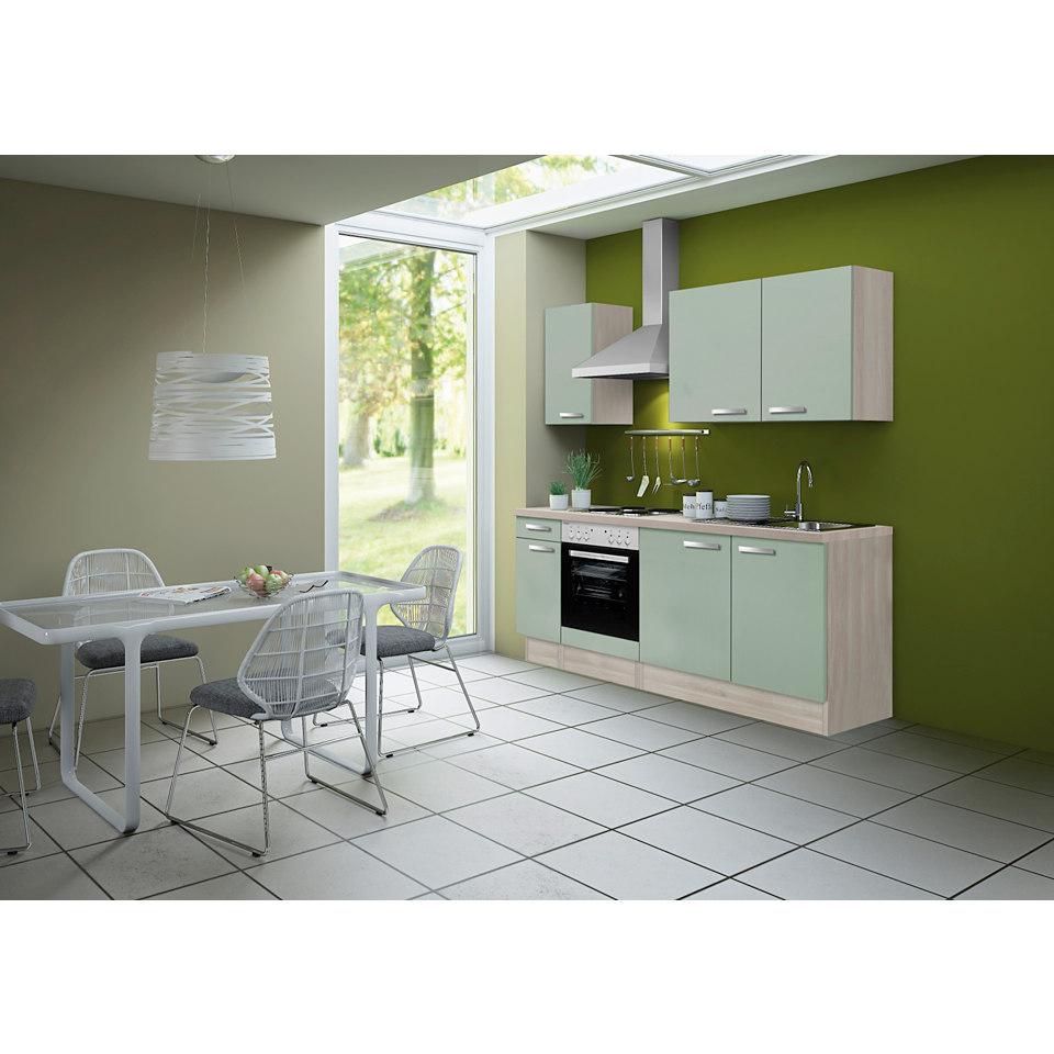 Küchenleerzeile Skagen, Breite 210 cm