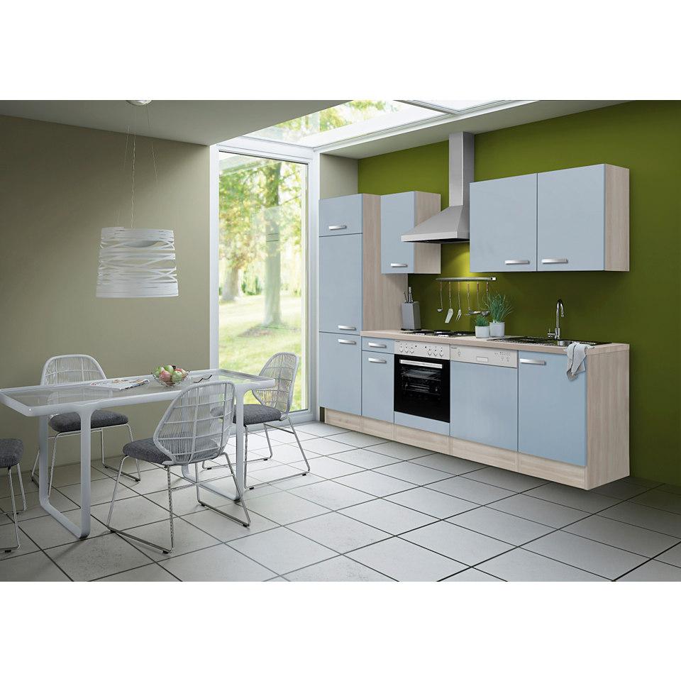 Küchenleerzeile Skagen, für Geschirrspüler geeignet - Breite 270 cm
