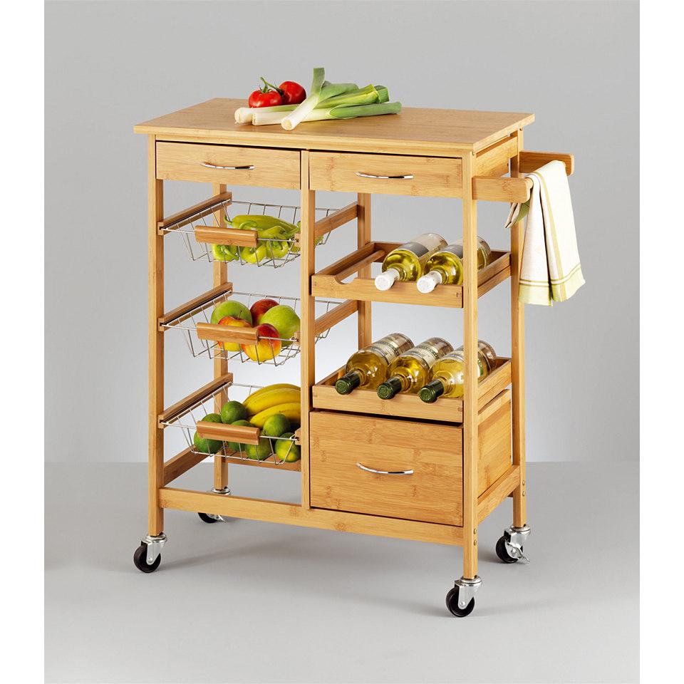 Küchenrollwagen »Bamboo«