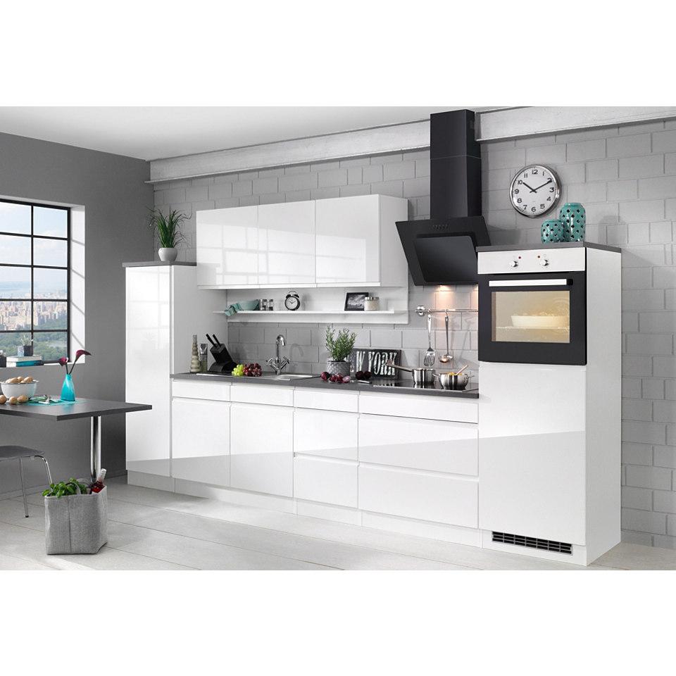 Küchenzeile 290 cm - mit E-Geräten »Virginia«