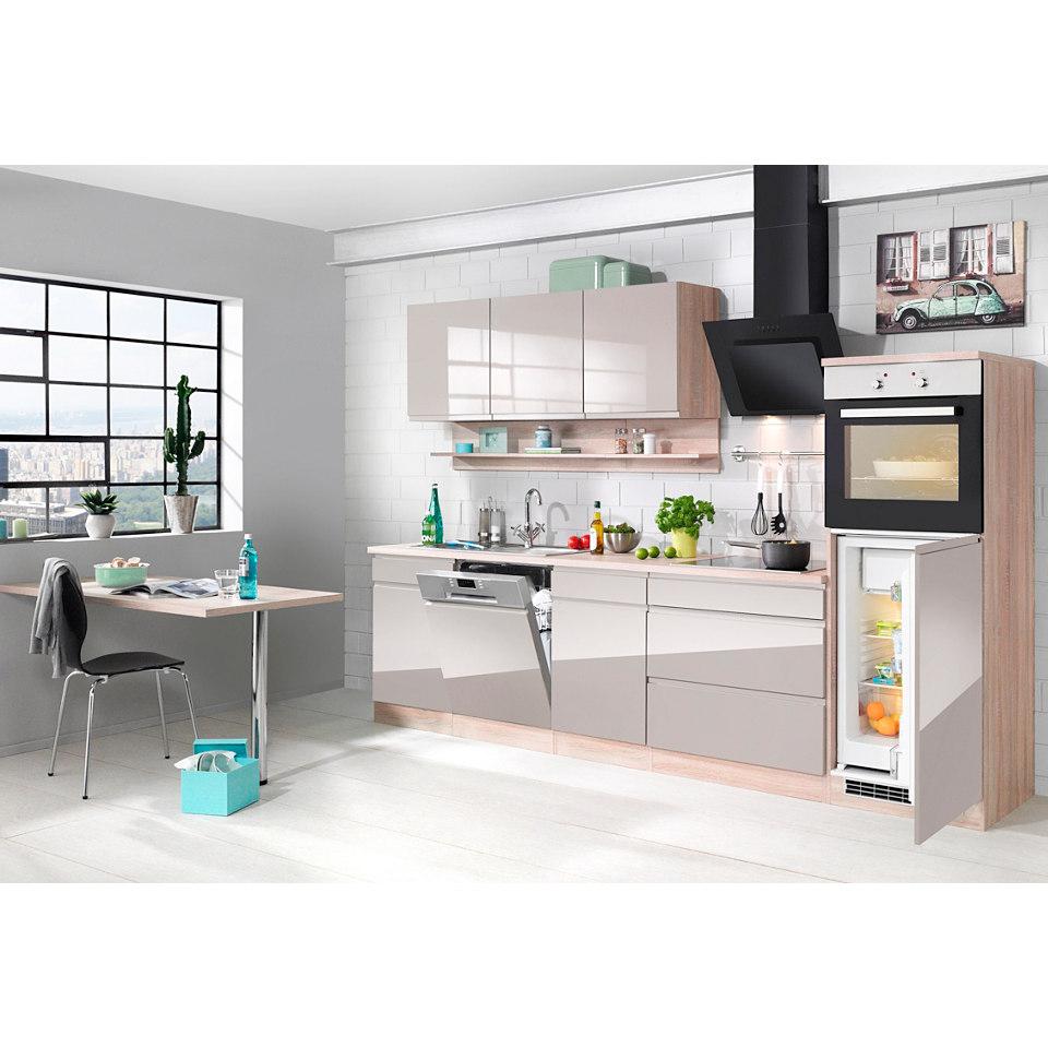 Küchenzeile 300 cm - mit E-Geräten »Virginia«