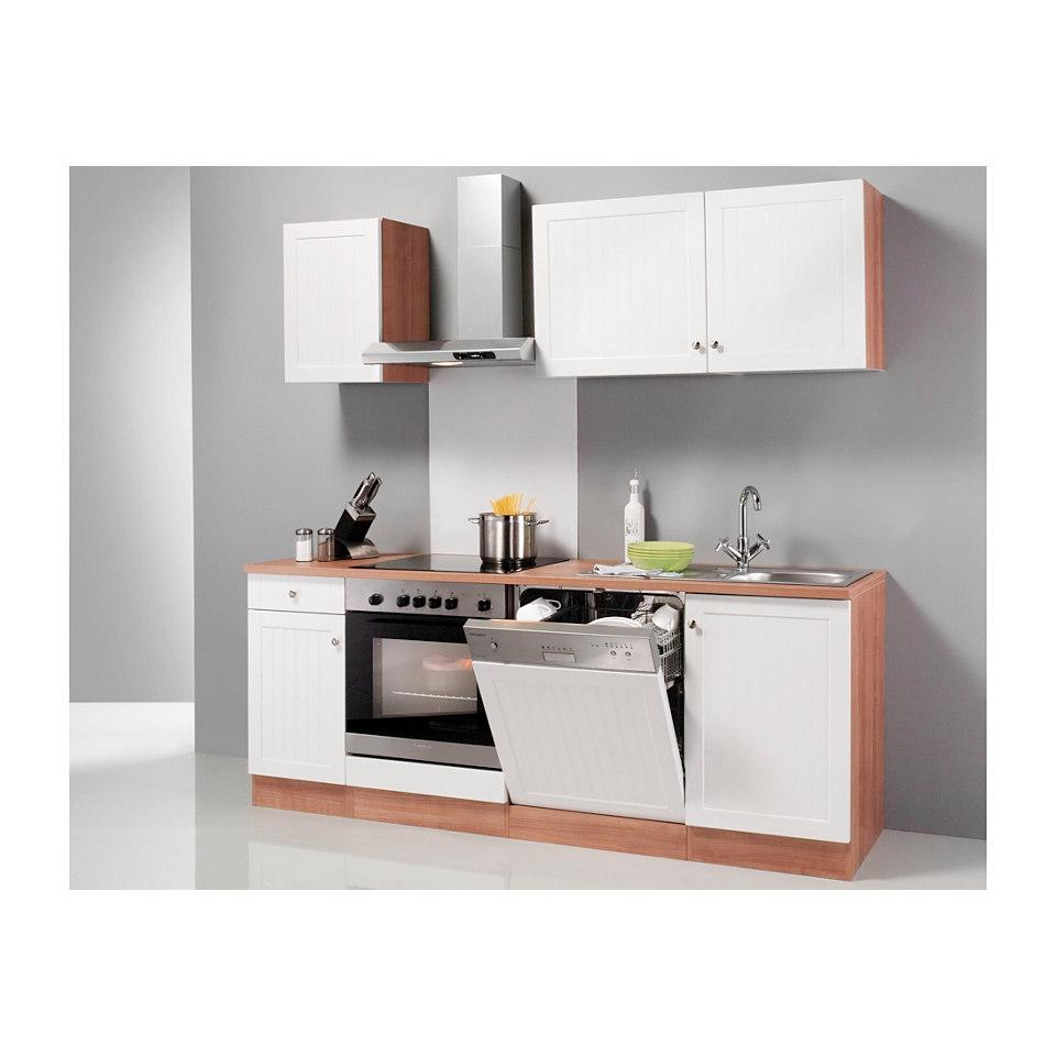 Küchenzeile Bornholm, Breite 210 cm, inkl. E-Geräte, Set 2