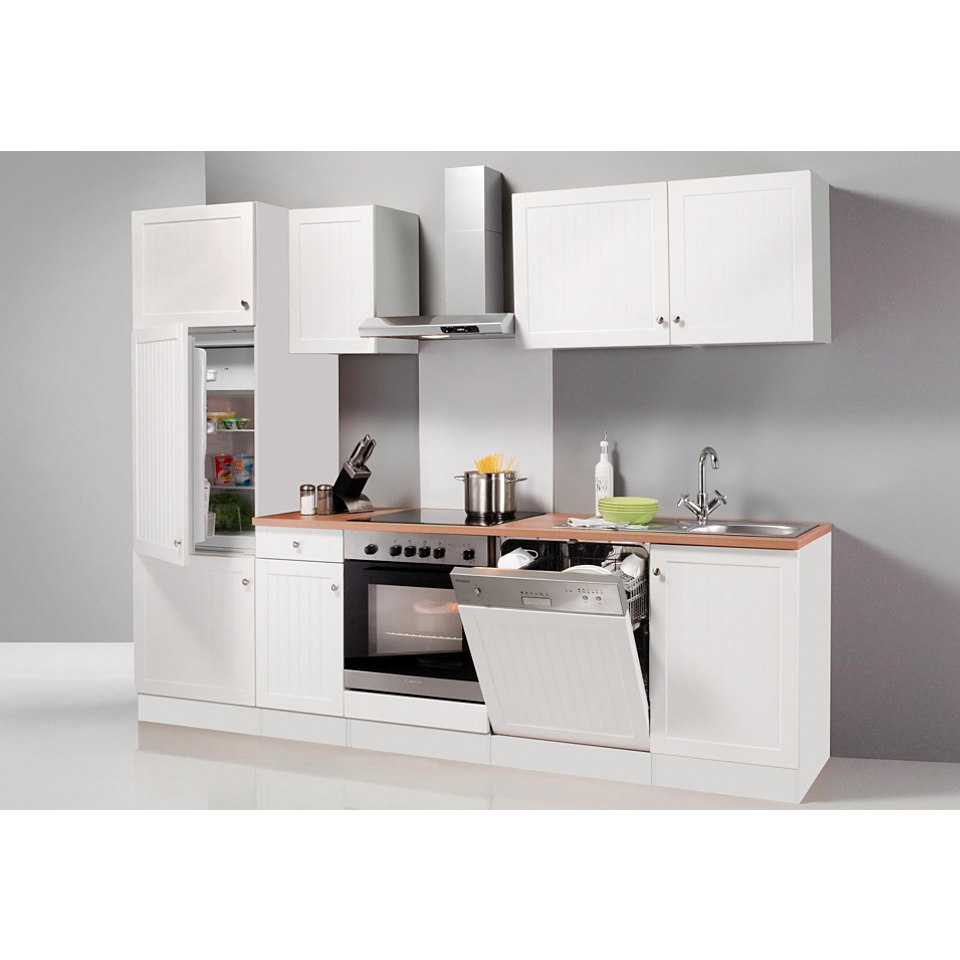 Küchenzeile Bornholm, Breite 270 cm, inkl. E-Geräte, Set 2